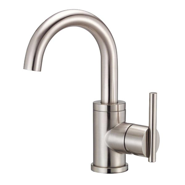 View a larger image of this Danze Parma brushed nickel single handle bathroom faucet
