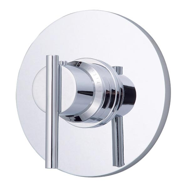 Danze Parma chrome single handle thermostatic shower valve