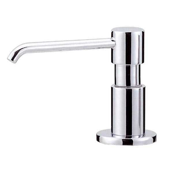 Danze Parma chrome soap and lotion dispenser