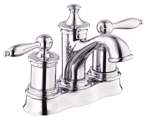 Centerset Bathroom Faucet  Chrome    143 18. Save water with WaterSense  labeled centerset bathroom faucets