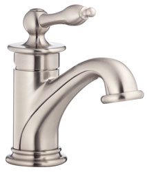 Photo of the exquisite Prince series single handle bathroom faucet