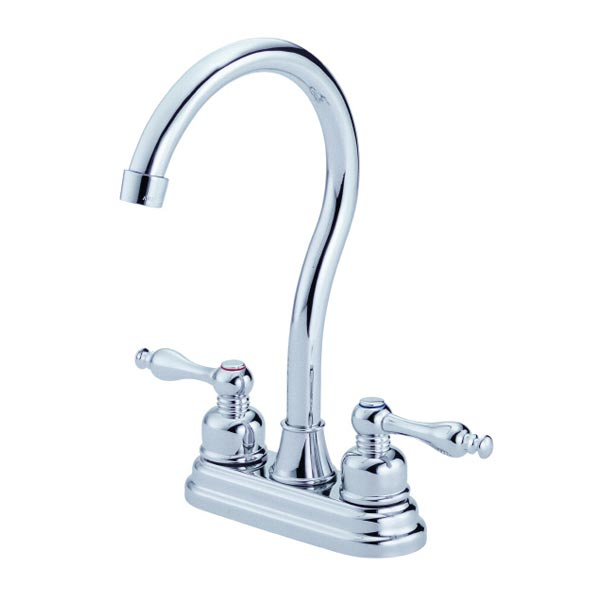 Chrome Two Handle bar Faucet