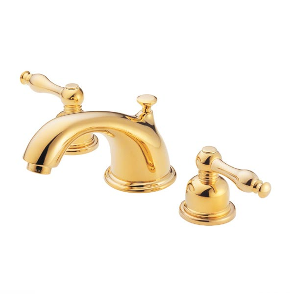 Danze Bathroom Products The Sheridan Collection - Gold and chrome bathroom faucets