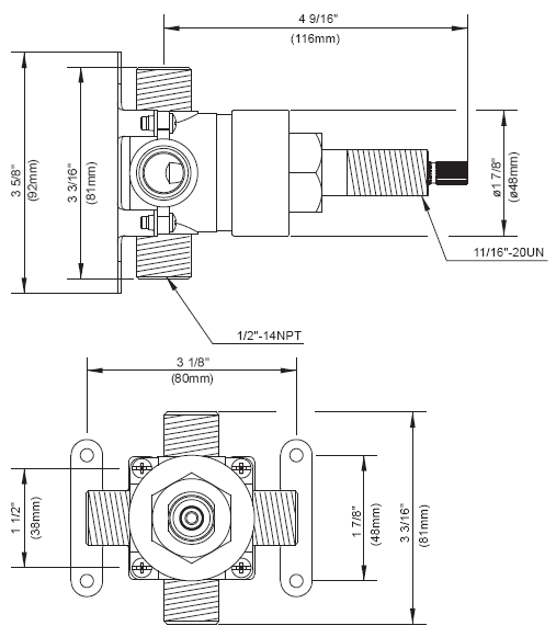 Sink Trap Schematic moreover Shower Diverters in addition Bath Plumbing Problems additionally Moen Monticello Faucet Parts Diagram together with Danze Sirius. on shower rough in valve installation