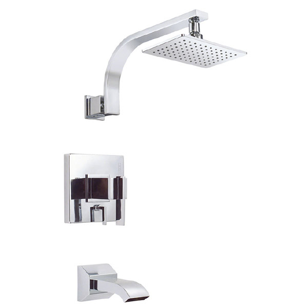 Danze Sirius tub/shower with single function shower head