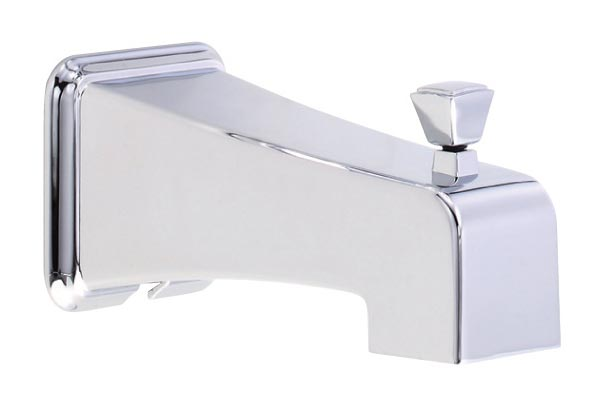 Danze Logan Square / Reef diverter tub spout in Chrome
