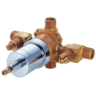 Superb Danze D112000BT Pressure Balance Valve With Screwdriver Stops