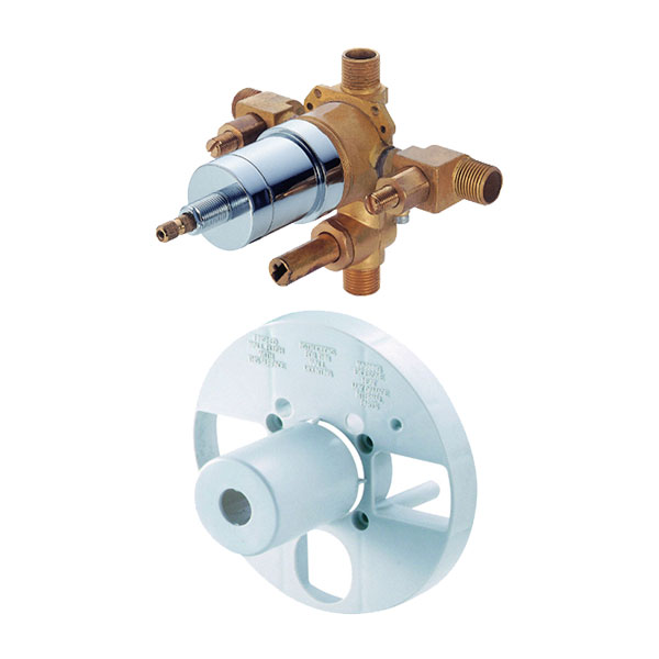 Danze pressure balancing valve with diverter