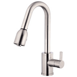 Image of Danze Amalfi Kitchen Faucet with Pull-Down