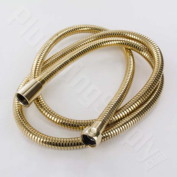 Luxury double spiral brass constructed shower hoses available in ...