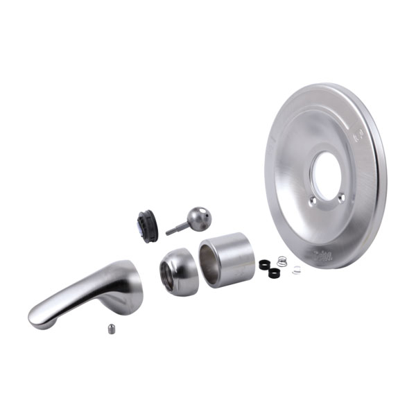Brushed Nickel Tub Shower Trim Kits For Delta Valley