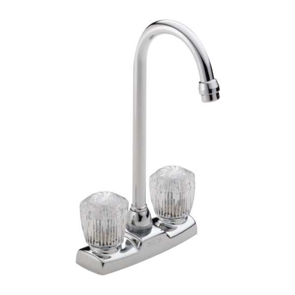 Delta two handle bar faucet