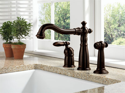 Kitchen on Delta Victorian    Collection   Kitchen   Bar Faucets   From Famous