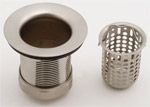 Deluxe Bar Sink Strainer