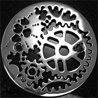 Designer Shower Drains Stainless Steel Jewelry For Your