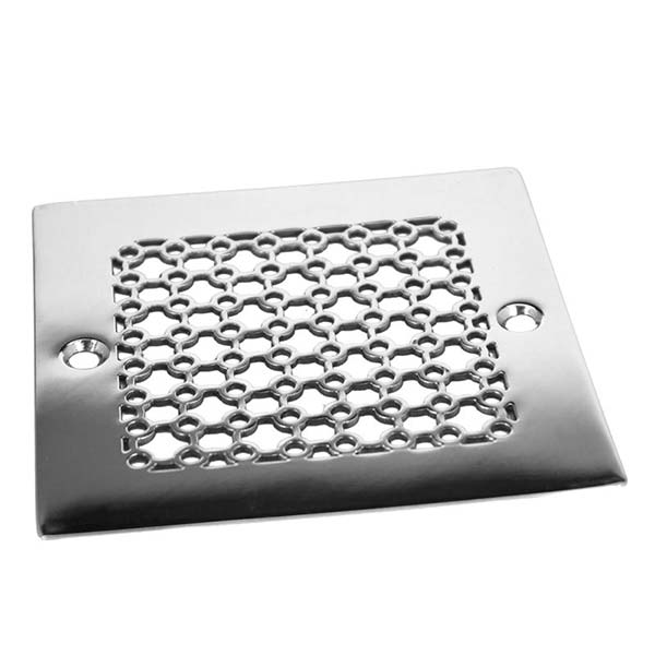 No. 5 square shower drain cover