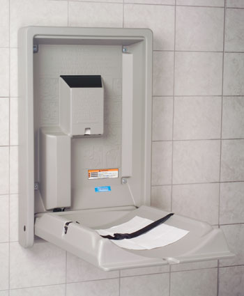 Public Restroom Diaper Changing Stations
