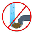 Preventing clogged drains