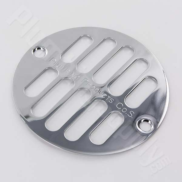 Chrome Drain Cover for American Brass & Aluminum, Plumbing Products, Oatey and Casper shower drains