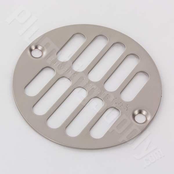 Stainless Steel Drain Cover for American Brass & Aluminum, Plumbing Products, Oatey and Casper shower drains