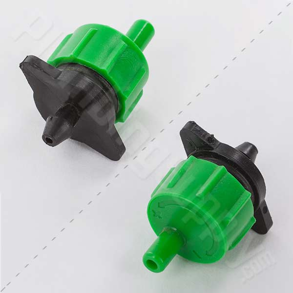 Adjustable green P dripper