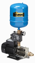 Photo of the DuraMAC residential booster pump system