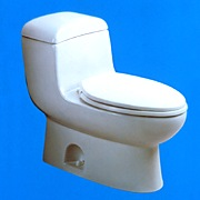 Duravit one piece Metro toilet