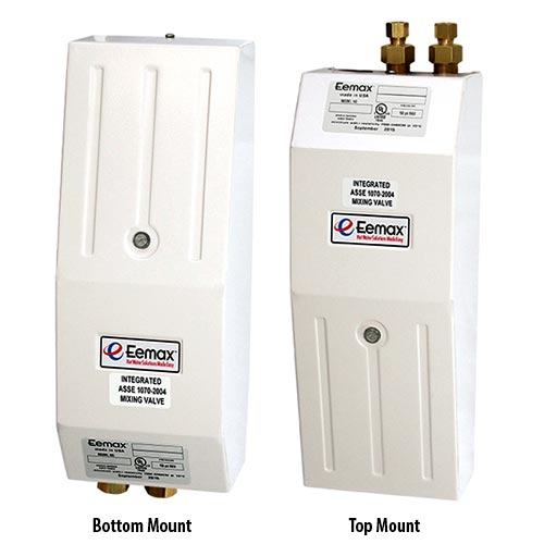 Eemax AccuMix electric tankless water heaters