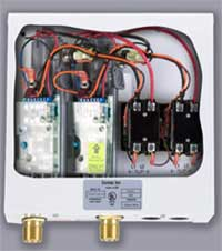 Eemax Staged model tankless water heaters with thermostatic controls