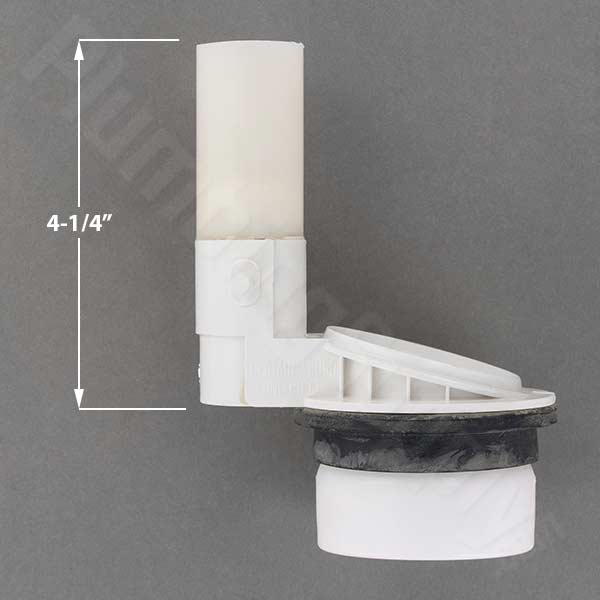 Eljer replacement flush valve without holes