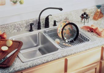 Example of installed ADA compliant sink