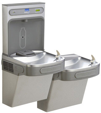 LZSTLDDWSVRLK, NON Refrigerated Bi Level Drinking Fountain With Bottle  Filler Vandal Resistant StreamSaver Bubbler   115 Volts/1 Amp/15 Watts ...