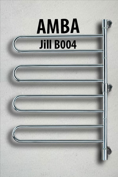 Example of Amba wall mounted swivel bar electric towel warmer