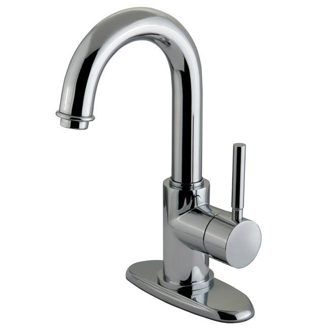 image of es8431dl single handle lav faucet lever handle