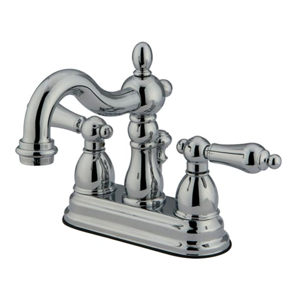EOD New Orleans chrome two handle bathroom faucet