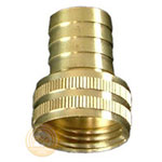 image of 3/4 inch female hose thread (fht) x barbed swivel fitting