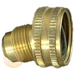 image of 3/4 inch female hose thread (fht) x flare fitting