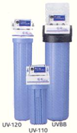 Ultra violet water filters