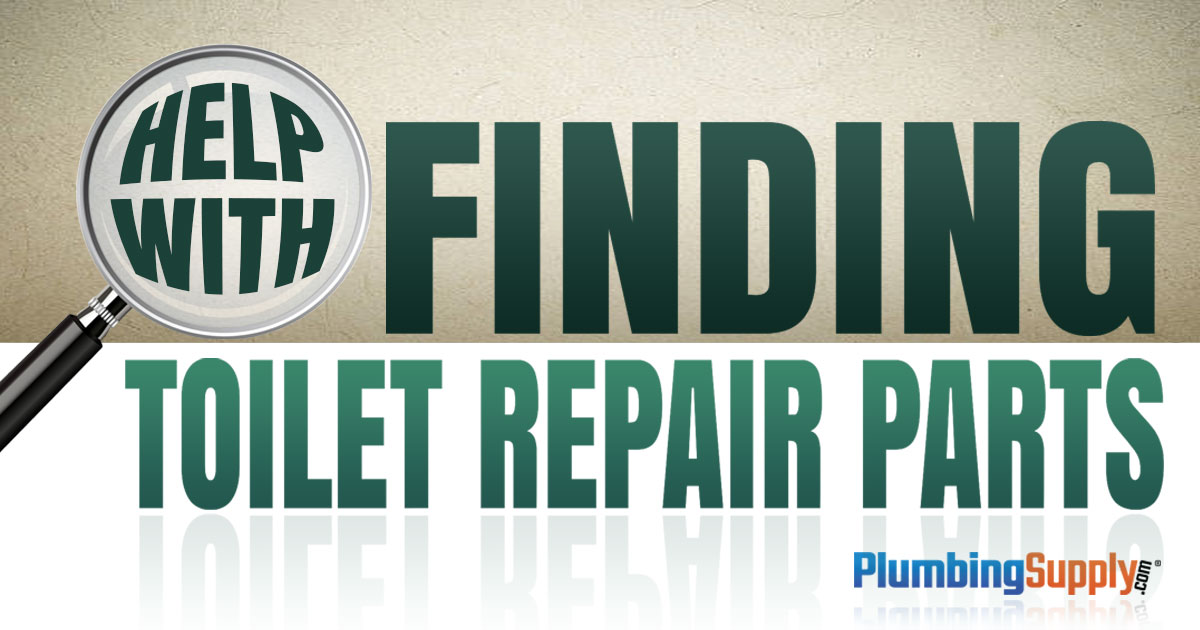 How To Find Toilet Repair Parts