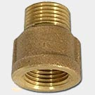 Brass fittings adapter