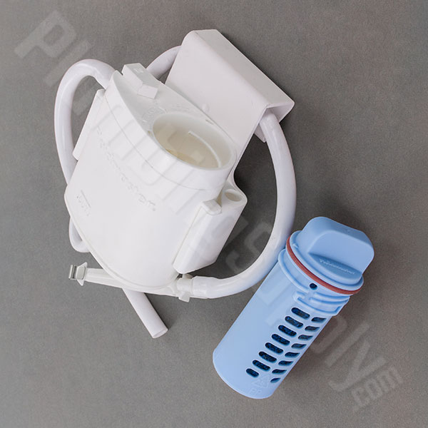 Toilet bowl cleaning system kit