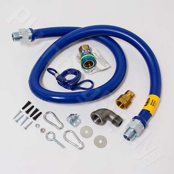The Blue Hose gas connector for commercial and food service use