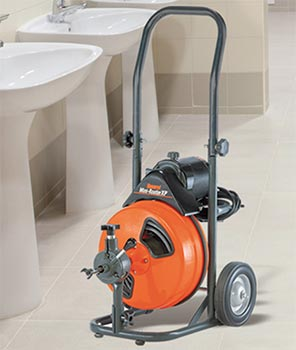 Image of the Mini Rooter-XP Drain Cleaner