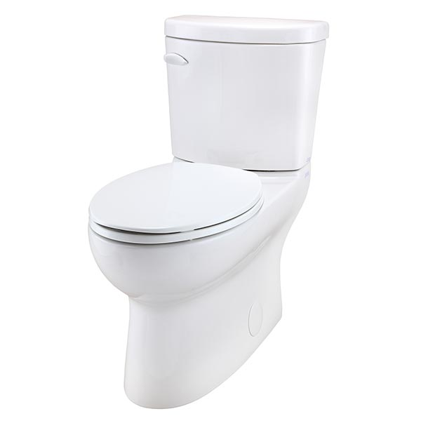 Gerber Avalanche two-piece toilet with concealed trapway - tank number CT-28-830
