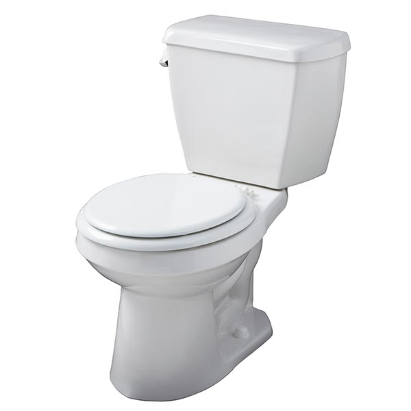 Gerber Avalanche high efficiency two-piece toilet - tank numbers HE-28-890, HE-28-894, and HE-28-895