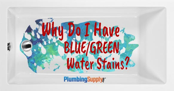 Getting Rid Of Blue Green Water Stains
