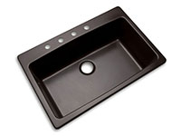 Photo of Rockland large single bowl kitchen sink