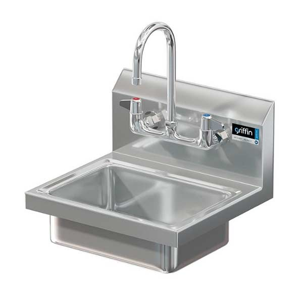 Picture of the BR 60-128 wall mount hand wash sink