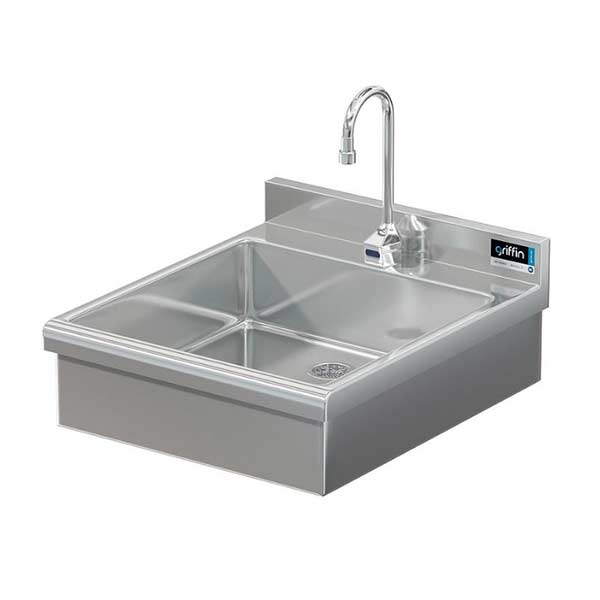 Griffin specialty sink BR-63-210 with electronic faucet