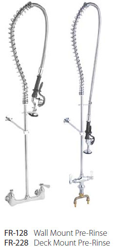 commercial grade kitchen restaurant faucets and accessories